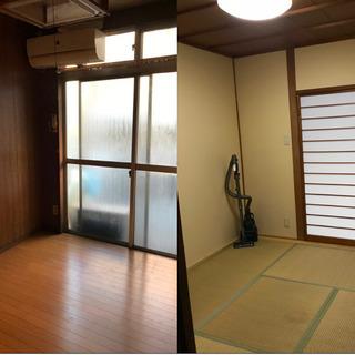 広々と4部屋(ロフト付き)家具・家電・寝具付き、全室エアコン完備...