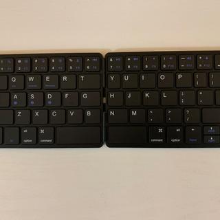 ワイヤレス 折りたたみキーボード 新品未使用