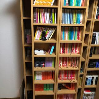 スライド式本棚。綺麗に使ってます。