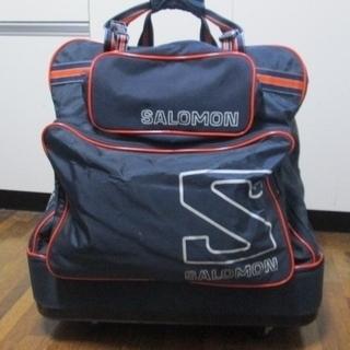 サロモンのスキー用キャリーバッグ差し上げます。