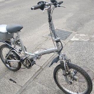 折り畳み自転車wサスペンション