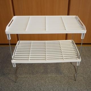 折り畳み棚 (2セット)