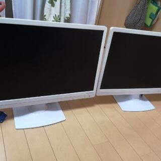 パソコンモニター2台 デュアルディスプレイ LCD-AD222E...