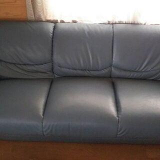 ソファ (sofa) 2 m, 合成皮革 (synth. lea...