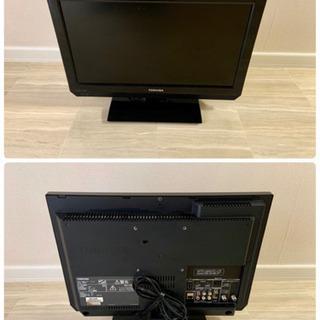 【中古】TOSHIBA 19インチ液晶テレビ