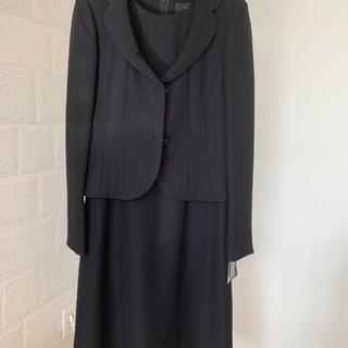 テーラードジャケット ワンピース+パンツ 女性用喪服 9号