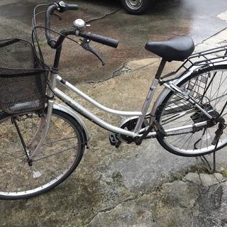 【6段ギア付】中古ママチャリ Second-hand bicycle