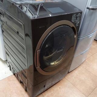 TOSHIBA 12kg/7kgドラム式洗濯機