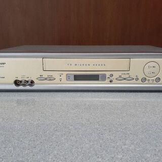 VHSビデオデッキ(シャープ)中古品