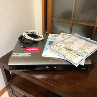 【現在取引進行中】SHARP DVDレコーダー DV-AC82 ...