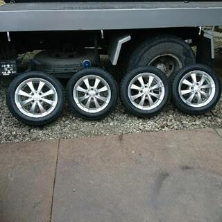 155/65R14 4本 スタッドレスタイヤ、アルミホイール セット