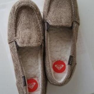 ROXYの靴(内側がモコモコ)