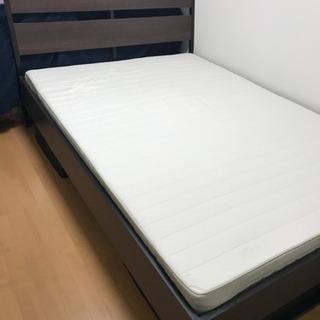 使用期間7ヶ月!IKEAダブルベッド
