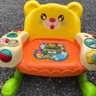 子供の椅子です。音楽でます。