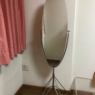 ミッドセンチュリー 等身大ミラー 鏡