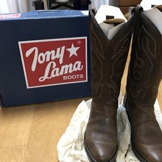 TONY LAMA ウエスタンブーツ US5.1/2サイズ 日本...