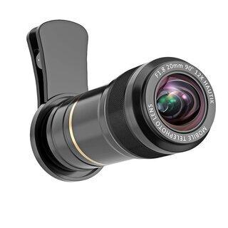 スマホ用カメラレンズ 12X望遠レンズ