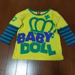 BABYDOLL サイズ130 七分袖Tシャツ