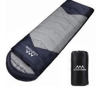 (新品未使用)寝袋 シュラフ 封筒型 軽量 保温 210T防水(