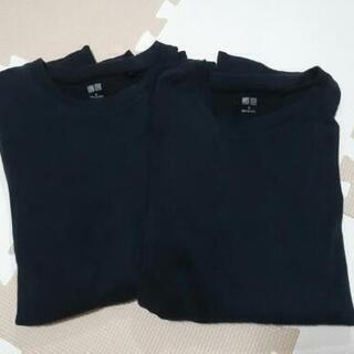 ユニクロ長袖Tシャツ2枚セット
