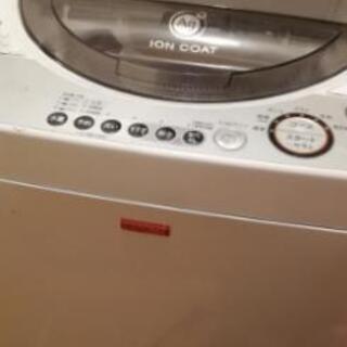 シャープ製 全自動洗濯機ES-55JC(値下げ検討可)