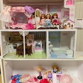 りかちゃん一式セット+お人形さん