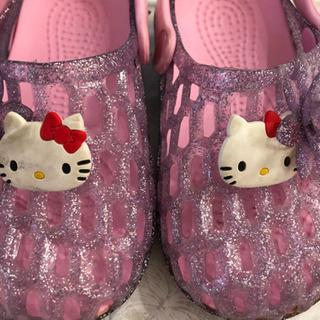 キティーちゃん サンダル16㎝ ピンク