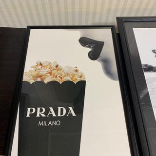 PRADA ポスター アート インテリア 43x30cm