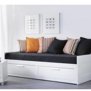 【取引中】IKEA BRIMNES 3way ベッドフレーム