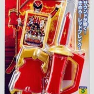 ②⚔️戦隊戦士のサウンド剣とカード(新品未開封)⚔️