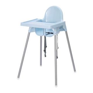 IKEA ハイチェア 水色★ライトブルー