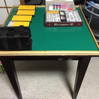 【自作麻雀卓】麻雀卓牌セット