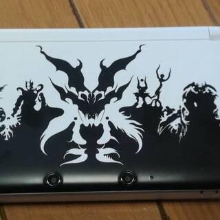 【中古レア】3DSLL 真・女神転生Ⅳモデル 大容量バッテリー...