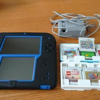 📺🎮2DS(ソフト7枚付き)