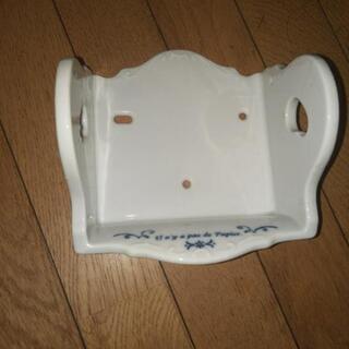 陶製のトイレットペーパーホルダー