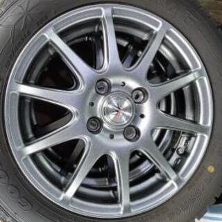 超美品スタッドレスタイヤホイール 155/65R14