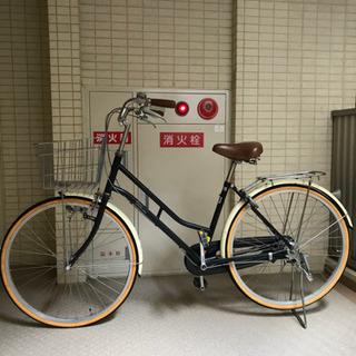 商談中 自転車 3段変速 タイヤ溝あり 錆あり 本日17時まで希望
