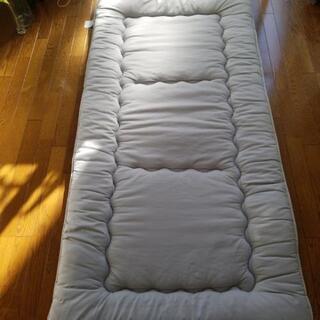 敷き布団 グレー シングルサイズ