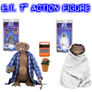 """E.T. 7"""" アクション フィギュア 【2種アソート】新品"""