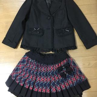 卒園・入学式フォーマル 女児用120cm