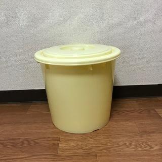 漬物樽(押蓋付)