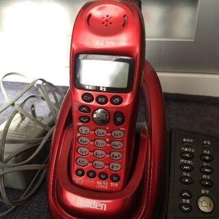 コードレス留守番電話機 ユニデンUCT-002 Uniden