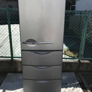 10年製 SANYO 4ドア冷凍冷蔵庫 SR-361T 355L...