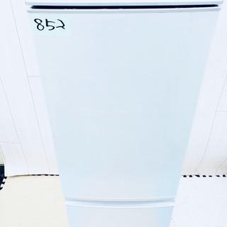 852番 SHARP✨ノンフロン冷凍冷蔵庫❄️SJ-17T-S‼️