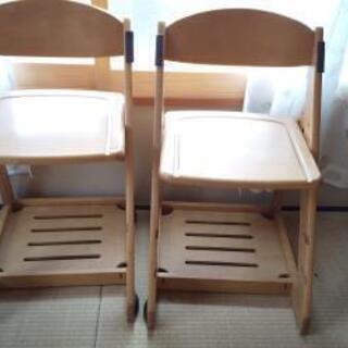 【無料】子供用椅子 イトーキ 2脚