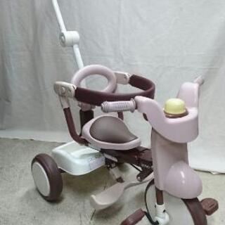 便利です! 折りたたみできる三輪車