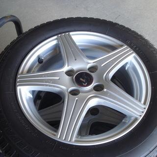 14インチ バリ山コンパクト車用スタッドレス 165/70R14...