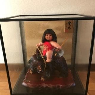 ガラスケース入り金太郎五月人形