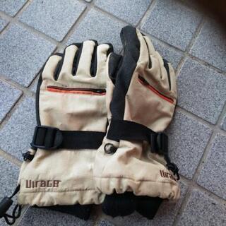 スノボ、スキー、バイク用 厚手手袋