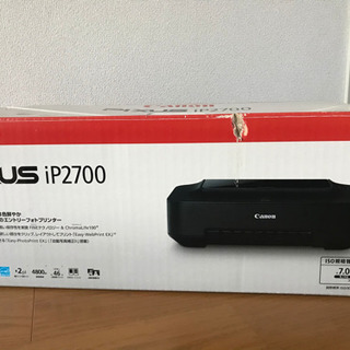 [引取予定者決定]Canon PIXUS iP2700 インクジ...